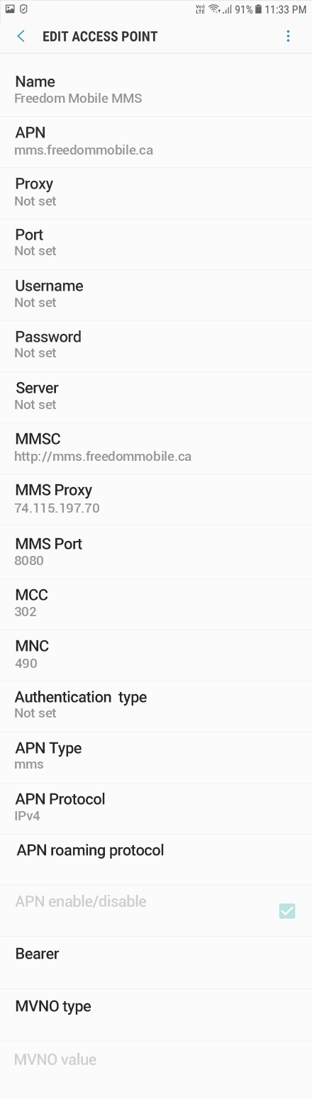 freedom mobile how to change phone number