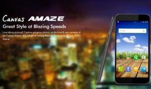 Micromax Canvas Amaze 4G