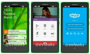 Nokia X (Normandy/A110)